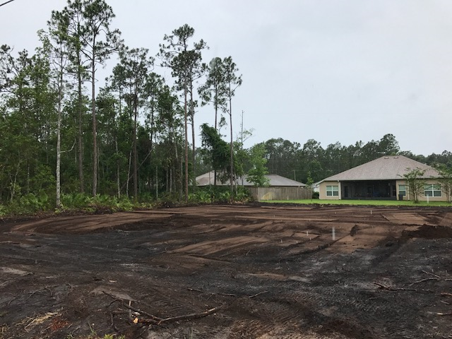 Land Clearing and Grade Work in Palm Coast